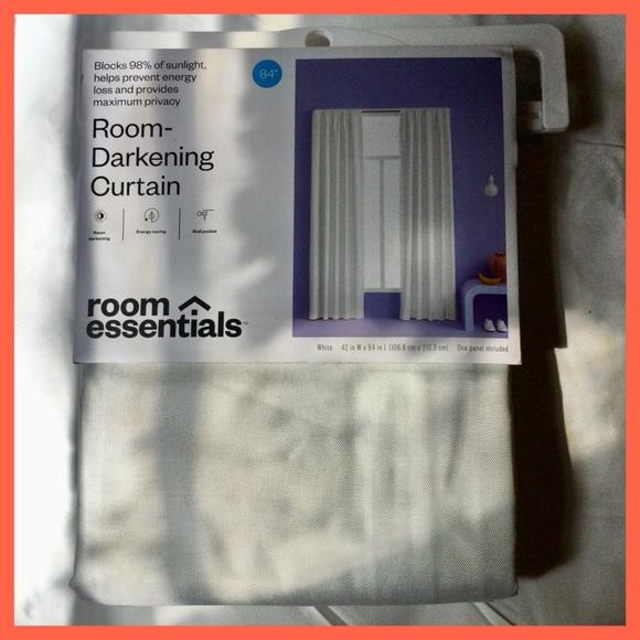 """Room-Darkening Curtain, 42x84"""""""